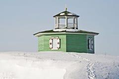 圆形建筑的教堂- 库存照片
