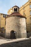 圆形建筑的Nalezeni sv Krize在捷克共和国的普拉哈市 免版税库存照片