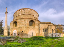 圆形建筑Galerius,塞萨罗尼基,马其顿,希腊 免版税库存照片