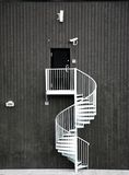 圆形楼梯 免版税库存照片