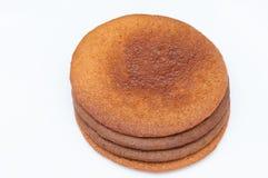 圆形蛋糕 免版税图库摄影