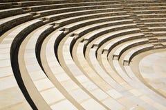 圆形露天剧场古老希腊希腊 库存图片