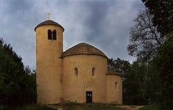 圆形建筑圣乔治(裂口) 免版税图库摄影
