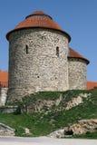 圆形建筑圣徒凯瑟琳在Znojmo 库存照片