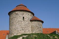 圆形建筑圣徒凯瑟琳在Znojmo 免版税库存图片