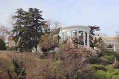 圆形建筑在塞瓦斯托波尔市(克里米亚) 库存图片