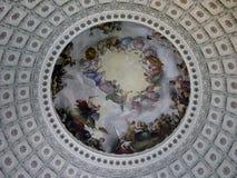 圆形建筑的华盛顿 免版税库存图片