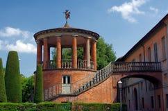 圆形建筑的Rossi,法恩扎,意大利 免版税库存图片
