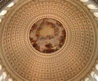 圆形建筑美国的国会大厦 图库摄影