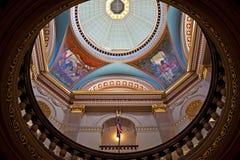 圆形建筑,不列颠哥伦比亚省议会 免版税图库摄影