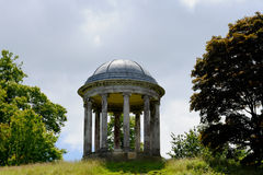 圆形建筑, Petworth议院,西萨塞克斯郡,英国 免版税库存照片
