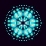 圆样式space2 库存图片