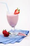 圆滑的人草莓 免版税库存照片