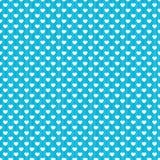 圆点心脏条纹无缝的背景 向量例证