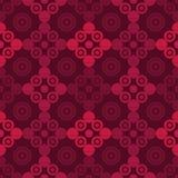 圆点无缝的样式 几何的背景 小点、圈子和按钮 图库摄影