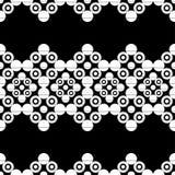圆点无缝的样式 几何的背景 小点、圈子和按钮 库存图片