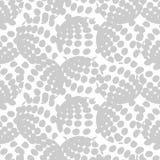 圆点无缝的样式 几何的背景 计算机图画 小点、圈子和按钮 库存例证