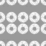 圆点无缝的样式 动态形状构成 几何的背景 小点、圈子和按钮 库存照片