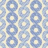 圆点无缝的样式 动态形状构成 几何的背景 小点、圈子和按钮 免版税库存图片