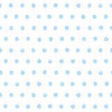圆点无缝的样式 向量例证