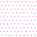 圆点无缝的样式 库存例证