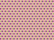 圆点紫色无缝的传染媒介样式 库存图片