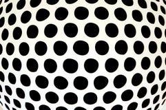 黑圆点 库存照片