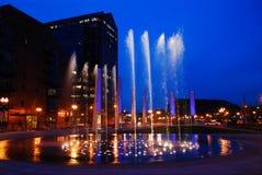 圆环喷泉,波士顿 库存照片