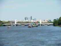 圆环泰晤士伦敦奥运会 库存图片