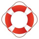圆环浮体,救生圈,救生圈 向量例证