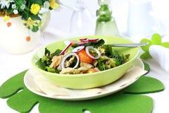 圆白菜开胃菜炖煮的食物 免版税库存图片