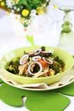 圆白菜开胃菜炖煮的食物 免版税图库摄影