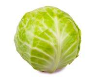 圆白菜新鲜有机 免版税库存照片