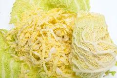 圆白菜新鲜的开胃菜 免版税库存图片