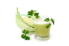 圆白菜汁 免版税库存图片