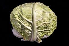 圆白菜的心脏 免版税库存照片