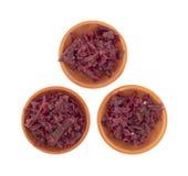 圆白菜红色酸甜点 免版税图库摄影
