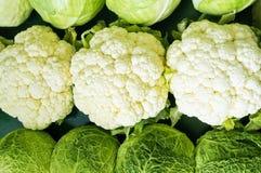 圆白菜花椰菜 库存图片