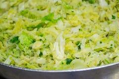 圆白菜食物专长 库存照片