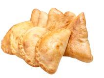 圆白菜食物小馅饼 免版税库存图片
