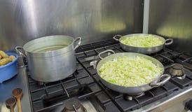 圆白菜食谱 库存图片