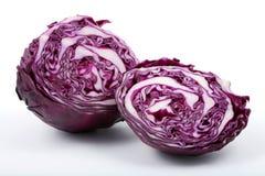 圆白菜紫色 免版税库存图片