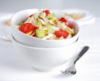 圆白菜fatburner健康salat 免版税图库摄影