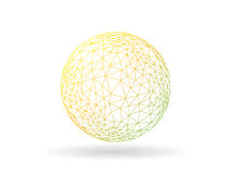 圆的与被编号的说明文本领域的难题齿轮介绍infographic图模板 向量图形templete 图库摄影