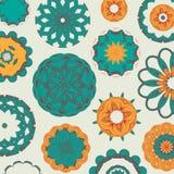 圆的传统装饰品样式 免版税图库摄影