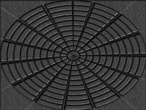 圆的例证 免版税库存照片