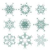 圆的几何装饰品 免版税库存图片