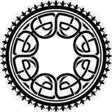 圆的凯尔特样式 库存例证