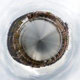 圆的圈子360度布拉格摄影,捷克 免版税库存照片