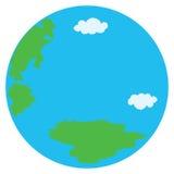 圆的地球 免版税库存照片
